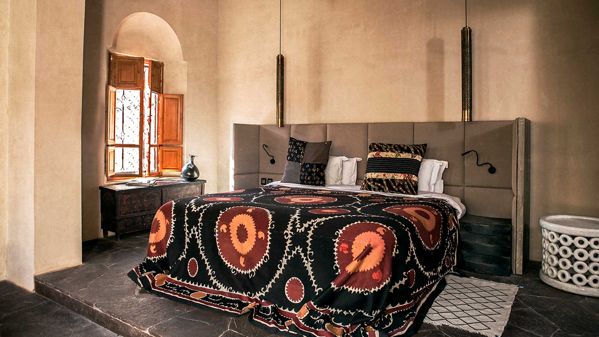 your bed in Arab Suite