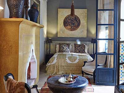 Suites in our romantic riad