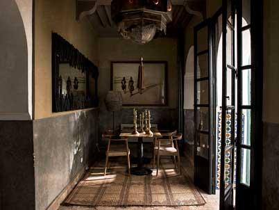 Restaurant in Marrakech