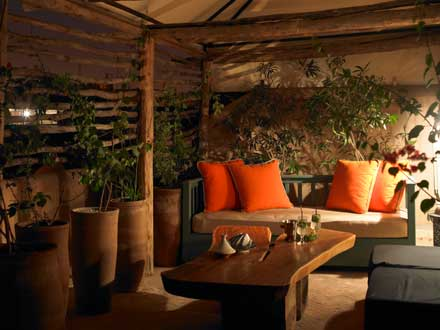 The best riad rooftop in Marrakech comprises three different terraces; one is small and cozy.